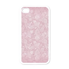 Elegant Vintage Paisley  Apple Iphone 4 Case (white) by StuffOrSomething
