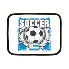 Soccer Uruguay Netbook Case (small) by MegaSportsFan