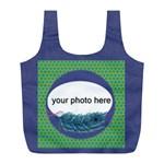 Peacock romantic bag - Full Print Recycle Bag (L)