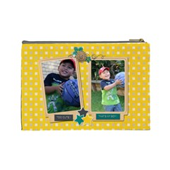 Cosmetic Bag (l : Boys 4 By Jennyl   Cosmetic Bag (large)   Oohab5yexphh   Www Artscow Com Back