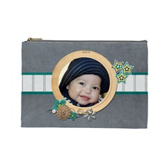 Cosmetic Bag (l) : Boys 5 By Jennyl   Cosmetic Bag (large)   Wsiidqvzruq5   Www Artscow Com Front