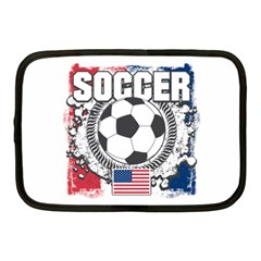 Soccer United States Of America Netbook Case (medium) by MegaSportsFan