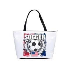 Soccer United States Of America Classic Shoulder Handbag by MegaSportsFan