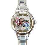 mothers day - Round Italian Charm Watch