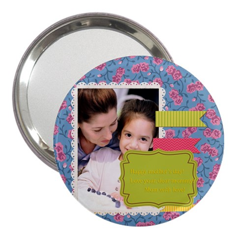 Mothers Day By Mom   3  Handbag Mirror   1zc4p88phjtn   Www Artscow Com Front
