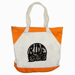 Ride Vintage Motorcycles Accent Tote Bag