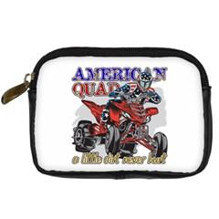 American Quad Digital Camera Leather Case by MegaSportsFan