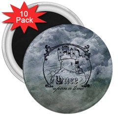 Once Upon A Time 3  Button Magnet (10 Pack) by StuffOrSomething