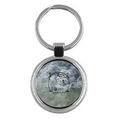 Once Upon A Time Key Chain (round) by StuffOrSomething