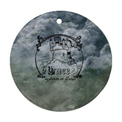 Once Upon A Time Round Ornament (two Sides) by StuffOrSomething