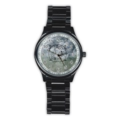 Once Upon A Time Sport Metal Watch (black) by StuffOrSomething