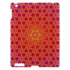 Radial Flower Apple Ipad 3/4 Hardshell Case by SaraThePixelPixie