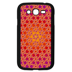 Radial Flower Samsung Galaxy Grand Duos I9082 Case (black) by SaraThePixelPixie