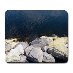 Atlantic Ocean Large Mouse Pad (rectangle) by DmitrysTravels