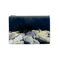 Atlantic Ocean Cosmetic Bag (medium) by DmitrysTravels