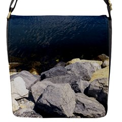 Atlantic Ocean Flap Closure Messenger Bag (small) by DmitrysTravels