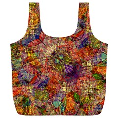 Geocolormatrixrec By Jean Petree   Full Print Recycle Bag (xl)   9vjm0xbvyfr1   Www Artscow Com Back