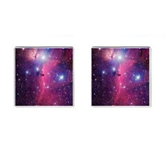 Galaxy Purple Cufflinks (Square) by SonderSkySecond