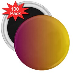 Tainted  3  Button Magnet (100 Pack) by Colorfulart23