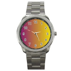 Tainted  Sport Metal Watch by Colorfulart23