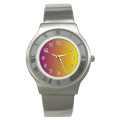 Tainted  Stainless Steel Watch (slim) by Colorfulart23
