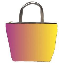 Tainted  Bucket Handbag by Colorfulart23