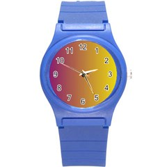 Tainted  Plastic Sport Watch (small) by Colorfulart23