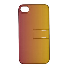 Tainted  Apple Iphone 4/4s Hardshell Case With Stand by Colorfulart23