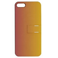 Tainted  Apple Iphone 5 Hardshell Case With Stand by Colorfulart23