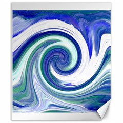 Abstract Waves Canvas 20  X 24  (unframed) by Colorfulart23