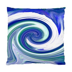 Abstract Waves Cushion Case (single Sided)