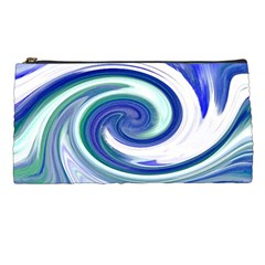 Abstract Waves Pencil Case by Colorfulart23