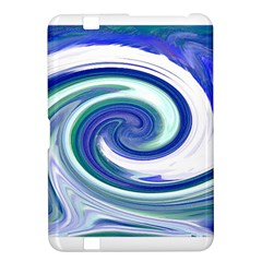 Abstract Waves Kindle Fire Hd 8 9  Hardshell Case by Colorfulart23