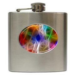 Fractal Fantasy Hip Flask by StuffOrSomething