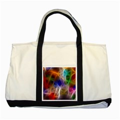 Fractal Fantasy Two Toned Tote Bag by StuffOrSomething