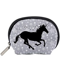 Unicorn on Starry Background Mini Zipper Pouch by StuffOrSomething