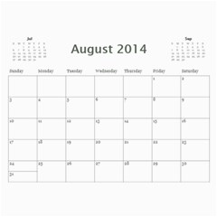 Mom By Michelle Loomis   Wall Calendar 11  X 8 5  (12 Months)   Xp3z64i2no8m   Www Artscow Com Aug 2014