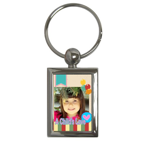 Kids By Kids   Key Chain (rectangle)   870yw805niwn   Www Artscow Com Front