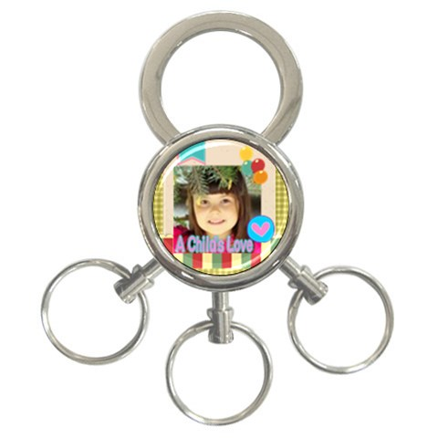 Kids By Kids   3 Ring Key Chain   Fjc94f835sva   Www Artscow Com Front