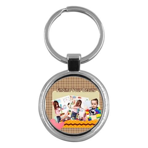 Kids By Kids   Key Chain (round)   Wleatarmixm4   Www Artscow Com Front