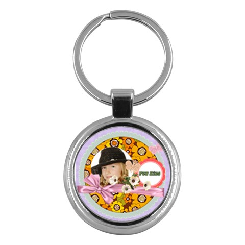 Kids By Kids   Key Chain (round)   Stiiohh6vpgv   Www Artscow Com Front