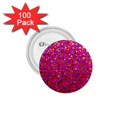 Polka Dot Sparkley Jewels 1 1 75  Button (100 Pack) by MedusArt