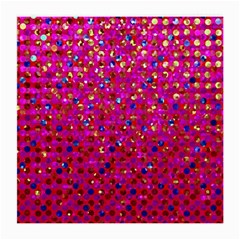 Polka Dot Sparkley Jewels 1 Glasses Cloth (medium, Two Sided) by MedusArt