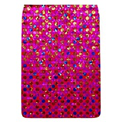 Polka Dot Sparkley Jewels 1 Removable Flap Cover (Large) by MedusArt