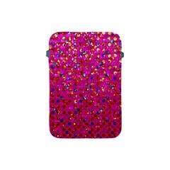 Polka Dot Sparkley Jewels 1 Apple Ipad Mini Protective Sleeve by MedusArt