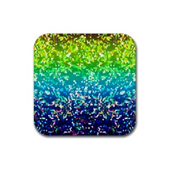 Glitter 4 Drink Coaster (square) by MedusArt