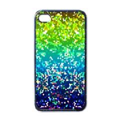 Glitter 4 Apple Iphone 4 Case (black) by MedusArt