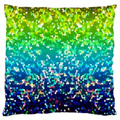 Glitter 4 Large Cushion Case (two Sided)  by MedusArt