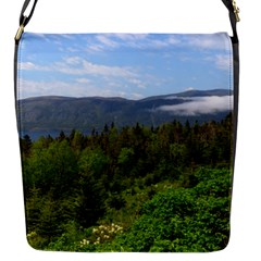 Newfoundland Flap Closure Messenger Bag (small) by DmitrysTravels