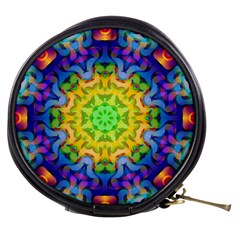 Psychedelic Abstract Mini Makeup Case by Colorfulplayground